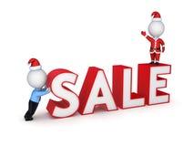 Έννοια πώλησης Χριστουγέννων. Στοκ φωτογραφία με δικαίωμα ελεύθερης χρήσης