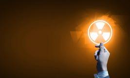 Έννοια ραδιενέργειας Στοκ εικόνες με δικαίωμα ελεύθερης χρήσης