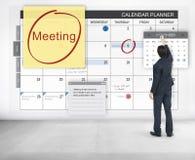 Έννοια σεμιναρίου προγραμματισμού συζήτησης διασκέψεων συνεδρίασης Στοκ Εικόνες