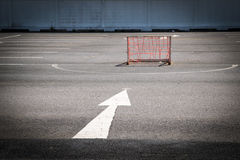 Έννοια στόχου, τρόποι στο στόχο Στοκ Φωτογραφίες