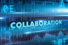 Έννοια συνεργασίας Στοκ Εικόνα
