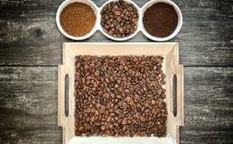 Έννοια σχεδίου καφεΐνης Στοκ Εικόνες