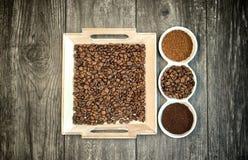 Έννοια σχεδίου καφεΐνης Στοκ φωτογραφίες με δικαίωμα ελεύθερης χρήσης