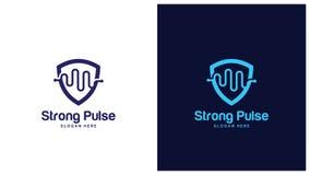 Έννοια σχεδίου λογότυπων υγείας, διαφορετικοί τύποι λογότυπων υγείας, απλό διάνυσμα σχεδίου λογότυπων Στοκ Φωτογραφία