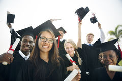 Έννοια σχολικού κολλεγίου σπουδαστών επιτεύγματος βαθμολόγησης στοκ εικόνες