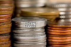 Έννοια σωρών νομισμάτων Στοκ Εικόνες
