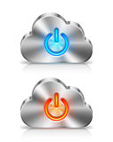 Έννοια σύννεφων Στοκ Εικόνα