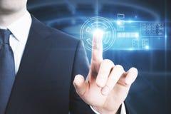 Έννοια τεχνολογίας και επιχειρήσεων Στοκ Εικόνες
