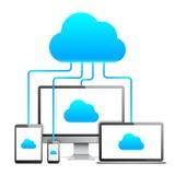Έννοια τεχνολογίας σύννεφων Στοκ φωτογραφία με δικαίωμα ελεύθερης χρήσης