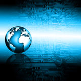 Έννοια τεχνολογίας τηλεόρασης και παραγωγής Διαδικτύου Στοκ Εικόνα
