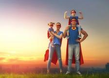 Έννοια της έξοχης οικογένειας Στοκ φωτογραφία με δικαίωμα ελεύθερης χρήσης