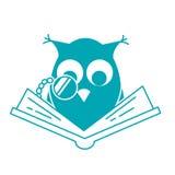 Έννοια της αγάπης της ανάγνωσης Στοκ Εικόνα
