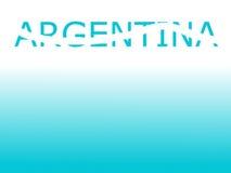 Έννοια της Αργεντινής Στοκ φωτογραφίες με δικαίωμα ελεύθερης χρήσης