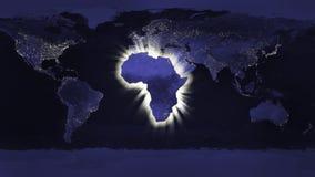 Έννοια της Αφρικής Στοκ Φωτογραφία