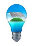 Έννοια της βιώσιμης ενέργειας Στοκ Εικόνες