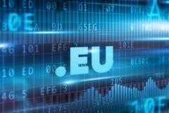 Έννοια της ΕΕ σημείων Στοκ Εικόνες