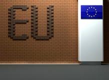 Έννοια της ΕΕ Στοκ φωτογραφία με δικαίωμα ελεύθερης χρήσης