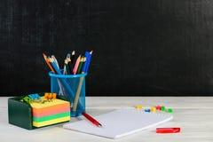 Έννοια της εκπαίδευσης, ο πρώτος του Σεπτεμβρίου ή πίσω στο σχολείο W Στοκ εικόνες με δικαίωμα ελεύθερης χρήσης