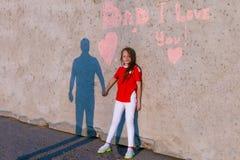 Έννοια της ευτυχούς ημέρας πατέρων στοκ φωτογραφία με δικαίωμα ελεύθερης χρήσης