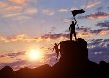 Έννοια της ηγεσίας και της επιτυχίας Στοκ Φωτογραφία