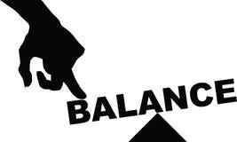 Έννοια της ισορροπίας Στοκ Φωτογραφία