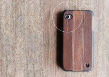 Έννοια της κινητής κάμερας που ρέει τη ζωντανή καταγραφή άποψης ή συνδετήρων VDO κρυφά Στοκ Φωτογραφίες