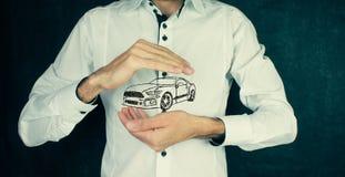 Έννοια της μεταφοράς αυτοκινήτων Στοκ Εικόνα