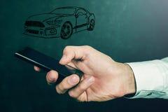 Έννοια της μεταφοράς αυτοκινήτων Στοκ φωτογραφίες με δικαίωμα ελεύθερης χρήσης