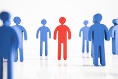 Έννοια της ομαδικής εργασίας, των ανθρώπων και των εικονιδίων Στοκ εικόνα με δικαίωμα ελεύθερης χρήσης
