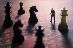 Έννοια της στρατηγικής χρηματιστηρίου Στοκ Φωτογραφίες