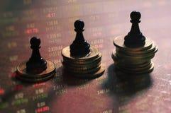 Έννοια της στρατηγικής χρηματιστηρίου Στοκ φωτογραφίες με δικαίωμα ελεύθερης χρήσης