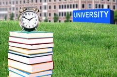 Έννοια της τριτοβάθμιας εκπαίδευσης Στοκ Εικόνες