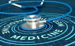 Έννοια της υγείας και της ιατρικής Στοκ Εικόνες