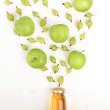 Έννοια της υγιούς κατανάλωσης φρούτων Στοκ Εικόνα