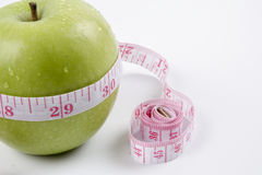 Έννοια της Apple για τη διατροφή, την υγειονομική περίθαλψη, τη διατροφή ή την ιατρική ασφάλεια Στοκ φωτογραφία με δικαίωμα ελεύθερης χρήσης