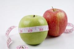 Έννοια της Apple για τη διατροφή, την υγειονομική περίθαλψη, τη διατροφή ή την ιατρική ασφάλεια Στοκ εικόνα με δικαίωμα ελεύθερης χρήσης