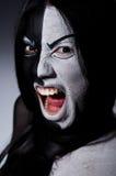 Έννοια της Satan αποκριές Στοκ Φωτογραφίες