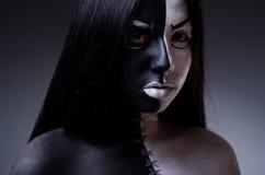 Έννοια της Satan αποκριές Στοκ φωτογραφίες με δικαίωμα ελεύθερης χρήσης