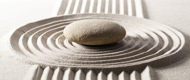 Έννοια της Zen για το επίτευγμα στόχου Στοκ Εικόνα