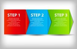 Έννοια του διαγράμματος βελτιώσεων επιχειρησιακής διαδικασίας. διανυσματική απεικόνιση