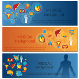Έννοια του εμβλήματος Ιστού ιατρικό optometrist ματιών διαγραμμάτων ανασκόπησης ανθρώπινος Στοκ Εικόνες