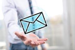 Έννοια του ηλεκτρονικού ταχυδρομείου Στοκ Εικόνες