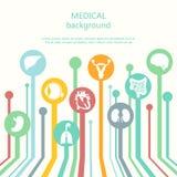 Έννοια του ιατρικού υποβάθρου Ανθρώπινη ανατομία Στοκ φωτογραφία με δικαίωμα ελεύθερης χρήσης