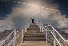 Έννοια του στόχου τρόπων για την επιτυχία στοκ εικόνα