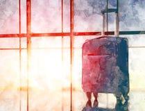 Έννοια του ταξιδιού και των διακοπών απεικόνιση Στοκ φωτογραφία με δικαίωμα ελεύθερης χρήσης