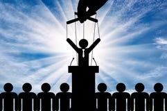 Έννοια του χειρισμού και του συγκεκαλυμμένου ελέγχου ελεύθερη απεικόνιση δικαιώματος