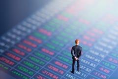 Έννοια του χρηματιστικού χρηματιστηρίου Στοκ Εικόνα