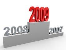 έννοια του 2009 διανυσματική απεικόνιση
