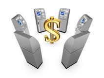 Έννοια του ATM. Ελεύθερη απεικόνιση δικαιώματος