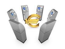 Έννοια του ATM. Διανυσματική απεικόνιση
